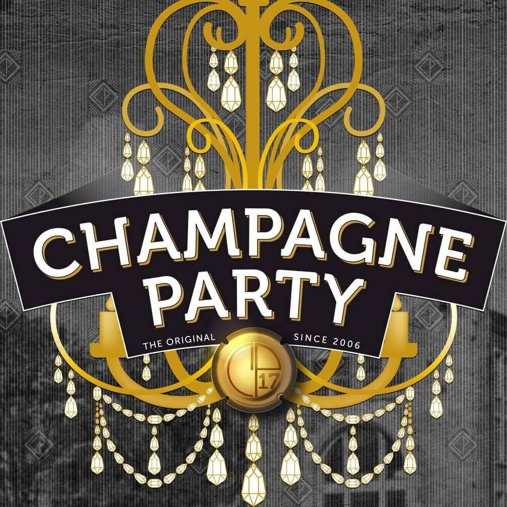 Champagne Party Genk voorzien van een VIP-deck